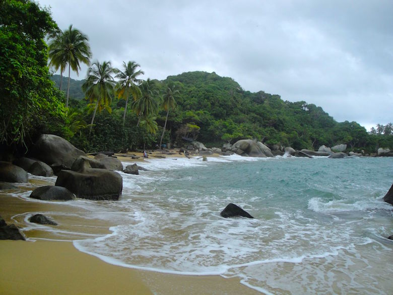 Exploring Tayrona National Park in Colombia