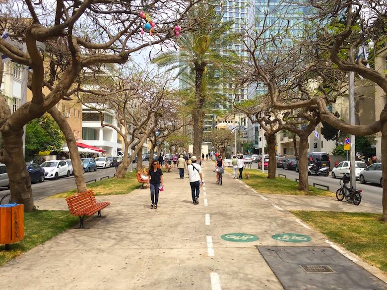 Rothschild Boulevard Best Things to See in Tel Aviv