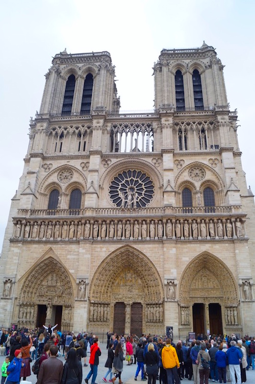 Notre Dame One Amazing Day in Paris