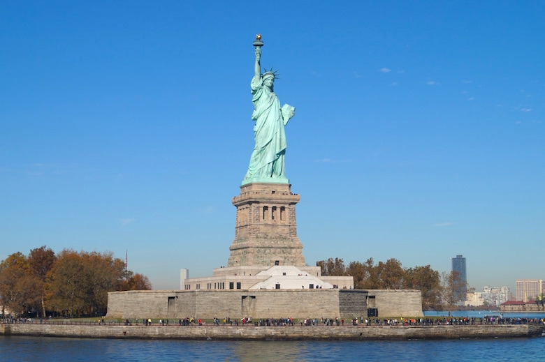 Statue of Liberty New York City Top tourist attractions