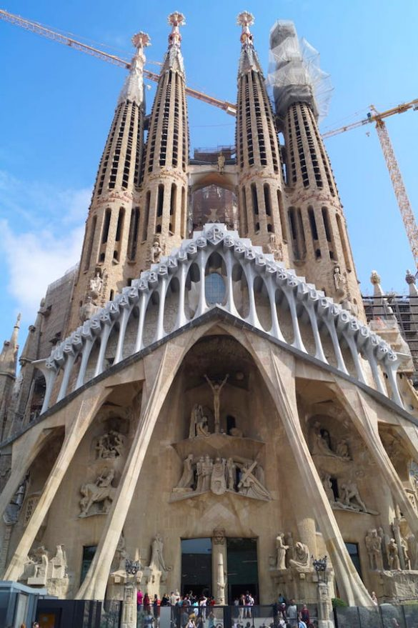 Sagrada Familia Eixample Barcelona Most Exciting Districts