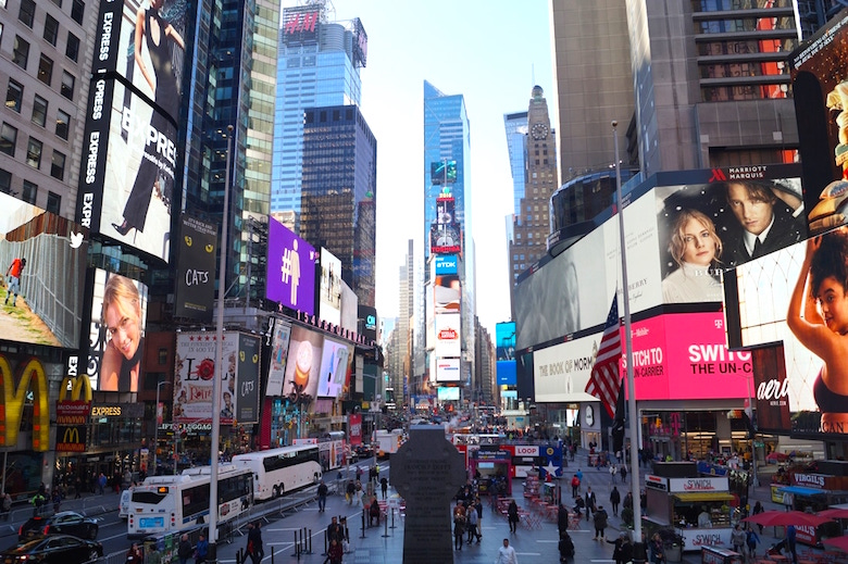 Times Square New York City Top tourist attractions