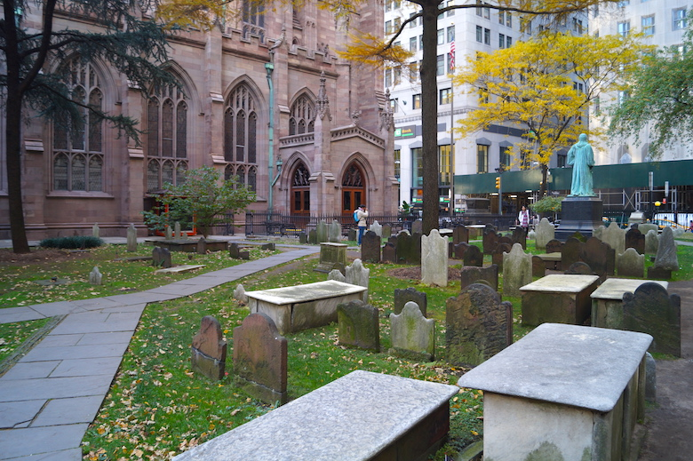 Trinity Church New York City Top tourist attractions