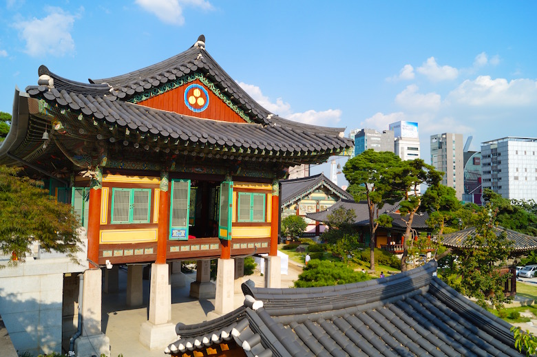 Bongeun-sa Top Things to See in Seoul