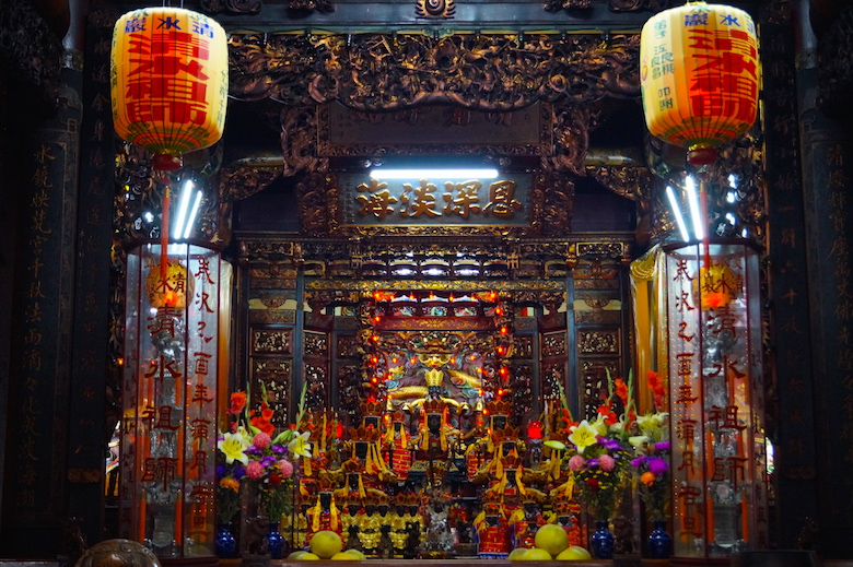 Longshan Temple Tamsui Top tourist attractions