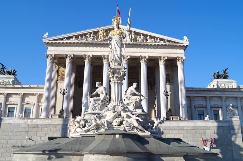 Austrian Parliament Building How to Spend 24 Hours in Vienna