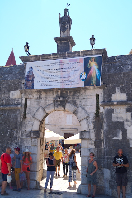 North Town Gate Top Things to See in Trogir