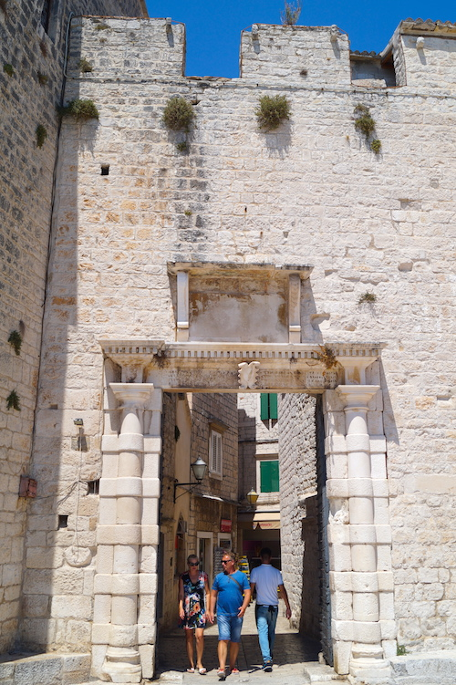 South Town Gate Top Things to See in Trogir