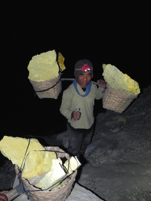 Hiking Impressive Kawah Ijen Volcano