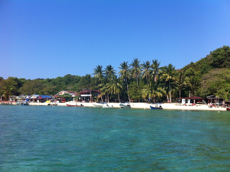 Beach Perhentian Kecil Exciting things to do