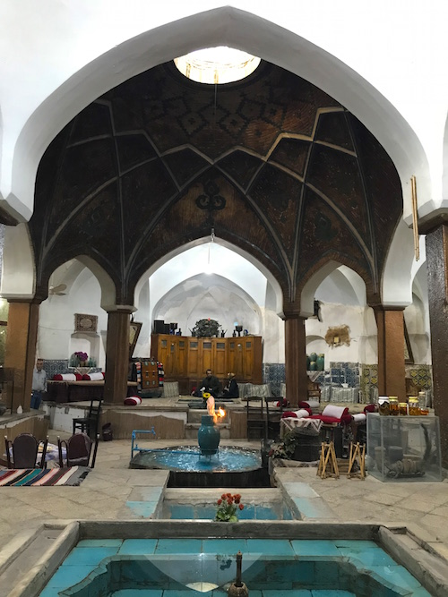 Hammam Khan Tea House Best Places to Visit in Kashan
