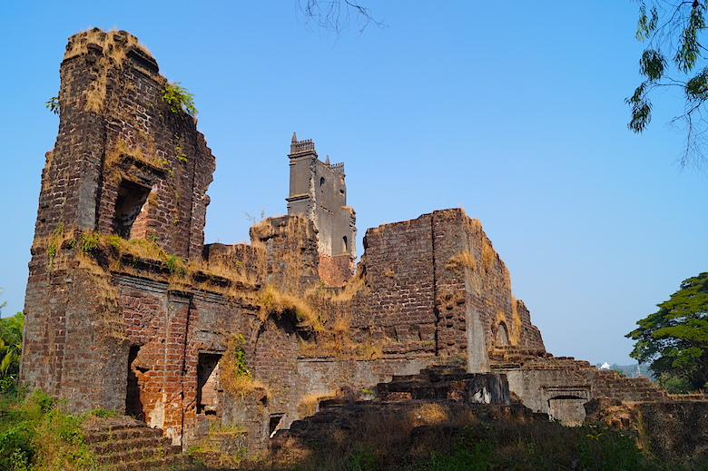 Monastery of St. Augustine Old Goa Best places to visit