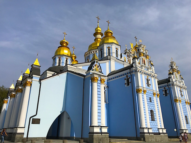 saint michaels golden domed monastery - 780×585