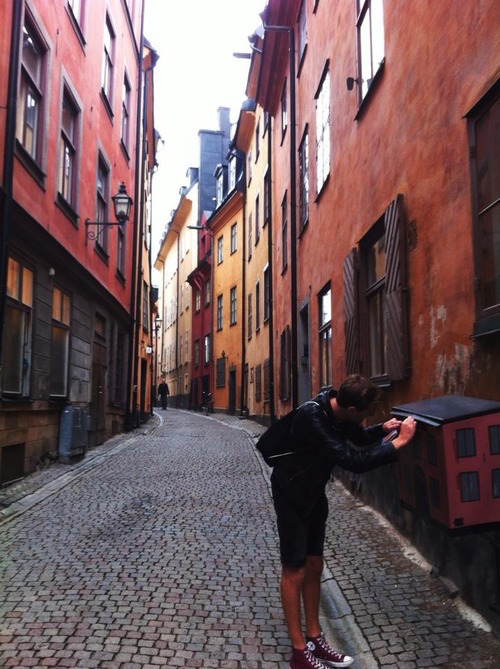 Drei Tage Stockholm