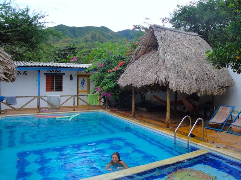 Hostel Divanga Taganga Kolumbien