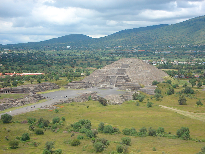 Teotihuacan Mexiko