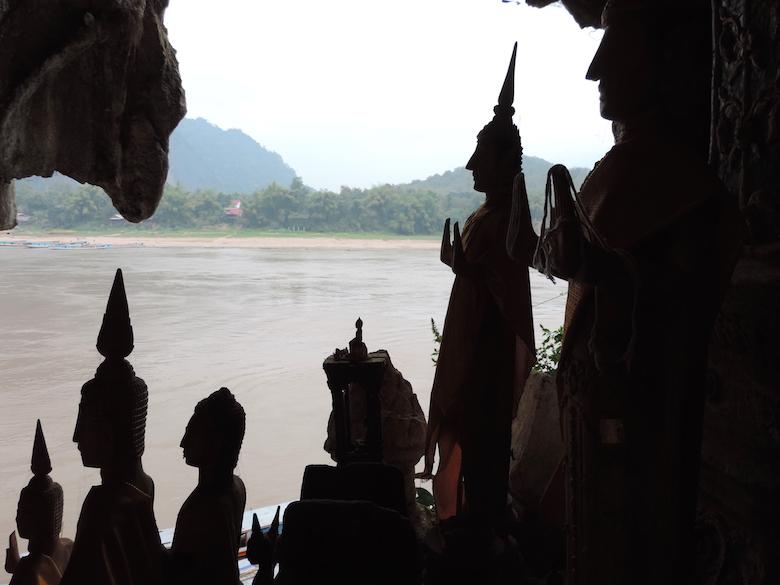 Pak Ou Höhlen Luang Prabang