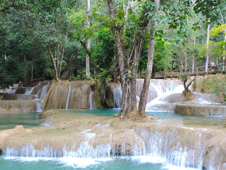 Kuang Si Wasserfälle Luang Prabang