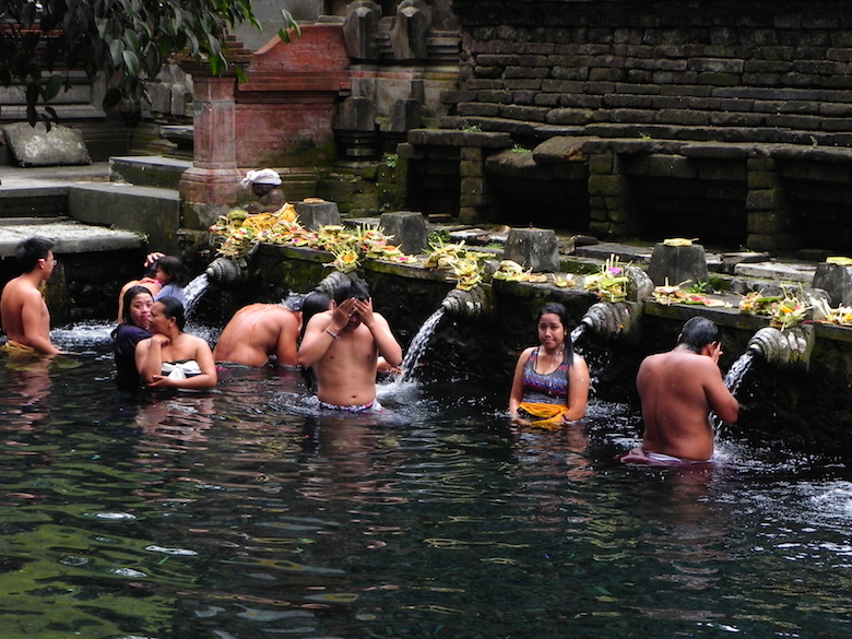 Tirta Empul Tempel Bali Indonesien