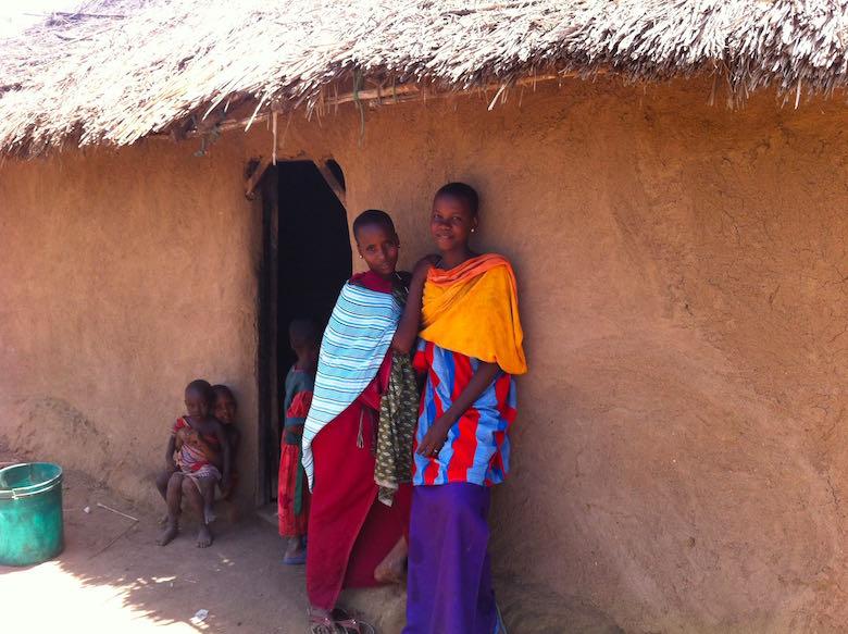 Besuch Massai Tansania