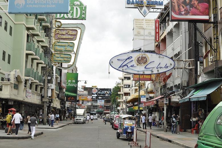 Bangkok Sehenswürdigkeiten Khao San Road