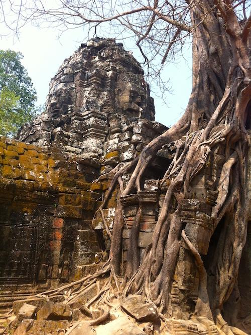 Fahrrad Tempel Angkor