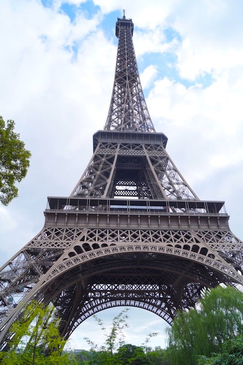 Eiffelturm Paris Ein Tag