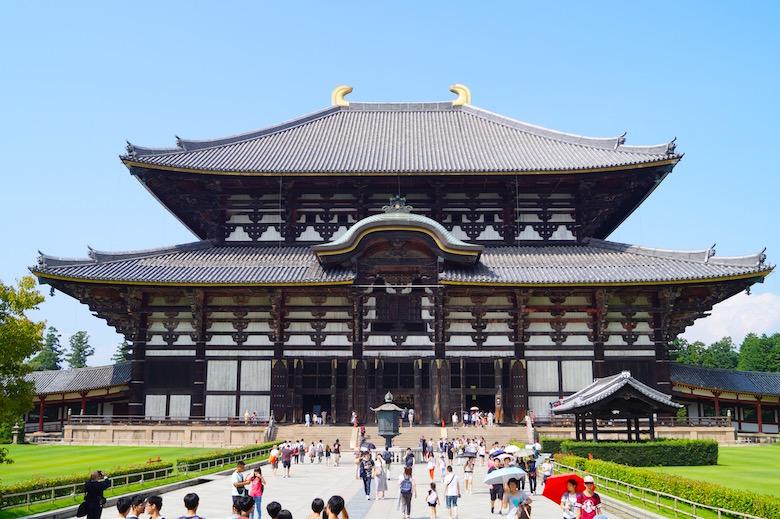 Todai-ji Tempel Nara Japan