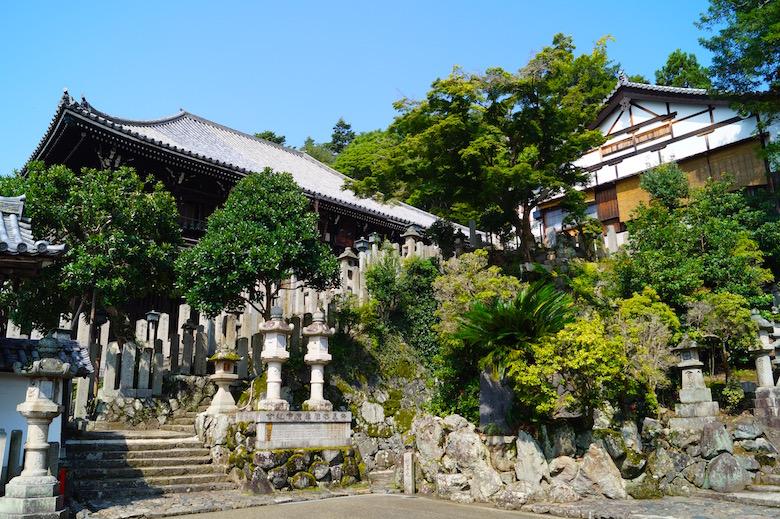 Nigatsu-do & Sangatsu-do Tempel Nara Japan