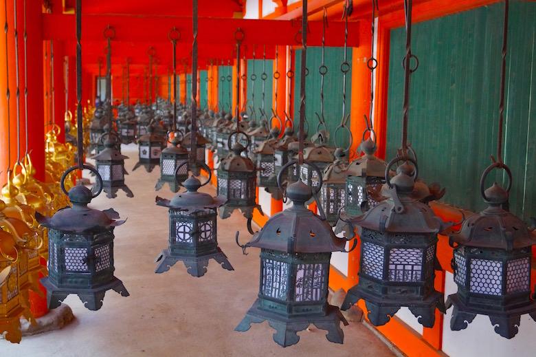 Kasuga Taisha Schrein Nara Japan
