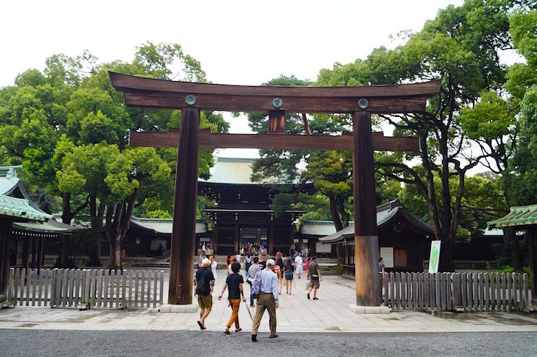 Meiji Schrein Tokio Japan