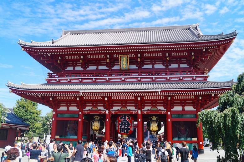 Senso-ji Tempel Tokio Japan
