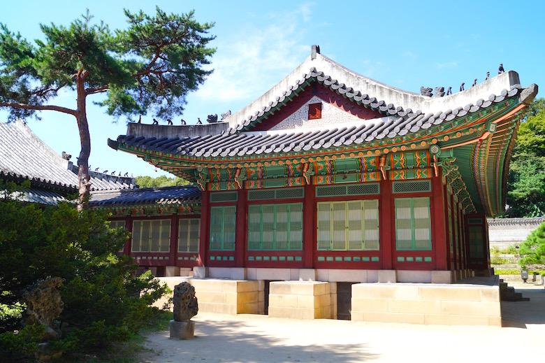 Changdeokgung Palast Seoul Südkorea