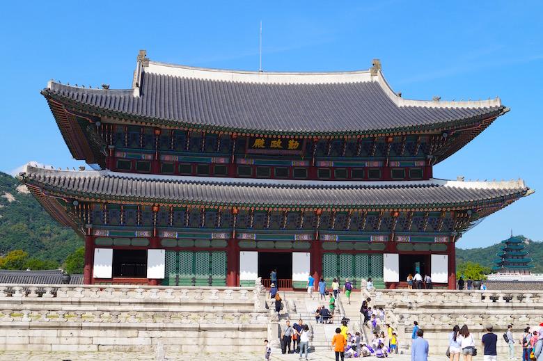 Gyeonbokgung Palast Seoul Südkorea