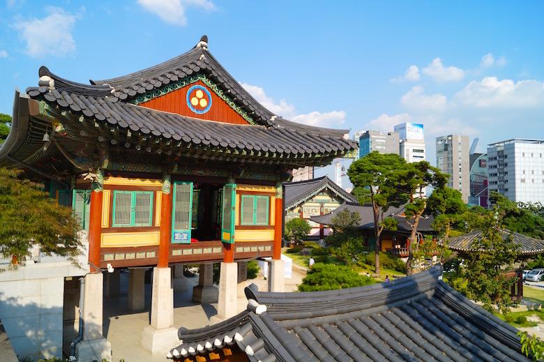 Bongeun-sa Tempel Seoul