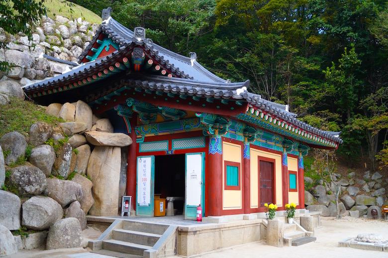 Seokguram Grotte Gyeongju Südkorea