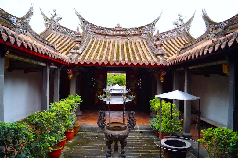 Yinshan Tempel Tamsui Taiwan