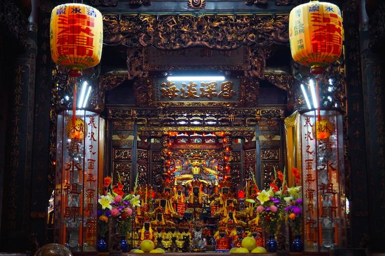 Longshan Tempel Tamsui Taiwan