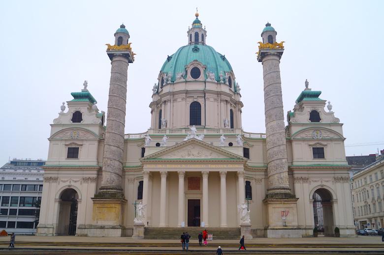 Karlskirche Wien Österreich