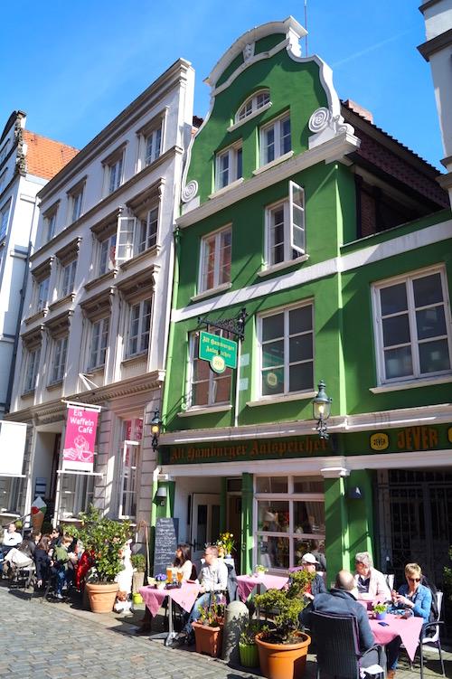 Hamburg altes Haus