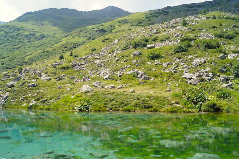 Lac Vert Valloire Frankreich