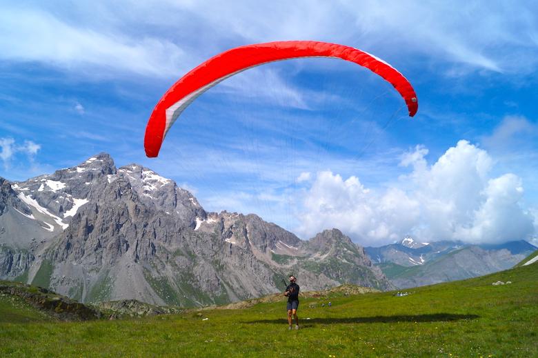 Paragliden Valloire Frankreich