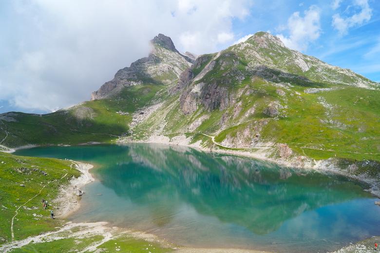 4 Lacs Wanderung Valloire Frankreich