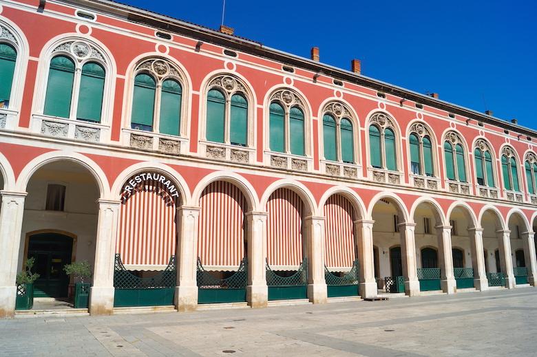 Platz der Republik Split Kroatien
