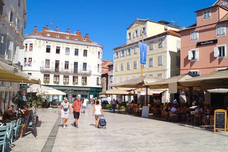 Volksplatz Split Kroatien