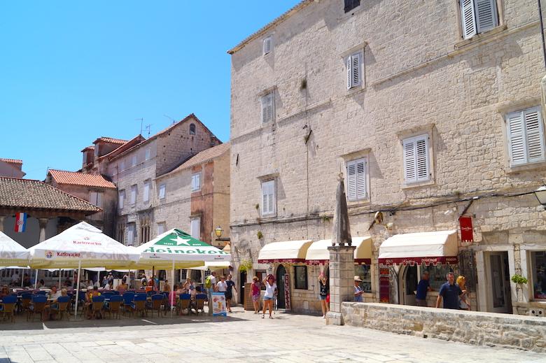 St. John Platz Trogir Kroatien