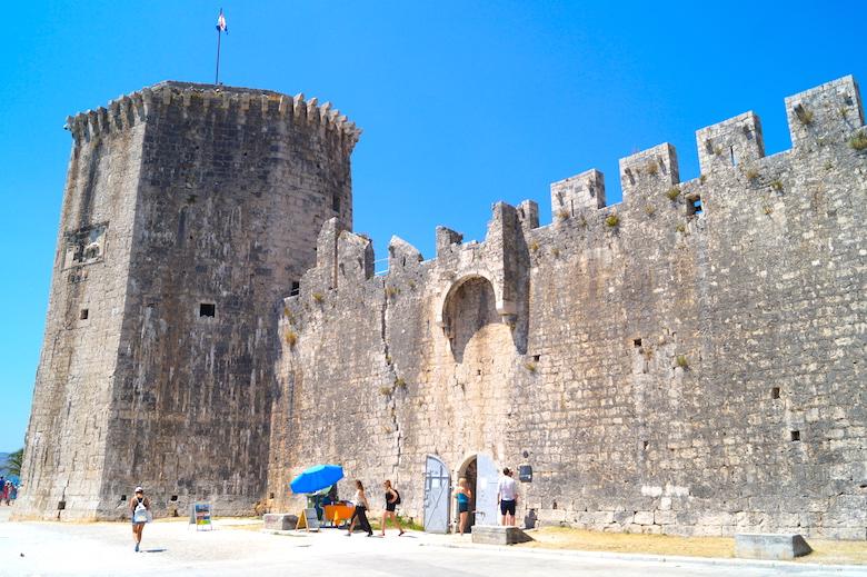 Festung Kamerlengo Trogir Kroatien