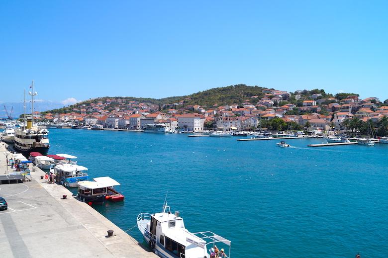 Hafen Trogir Kroatien