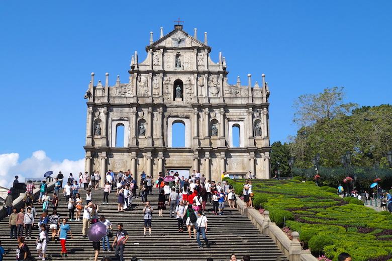 Ruinen der Pauluskirche Macau