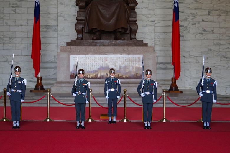 Chiang Kai-shek Gedächtnishalle Taipeh